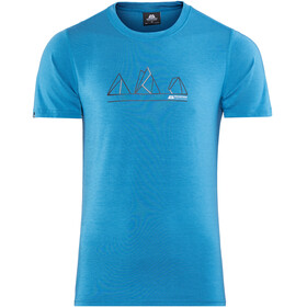 Mountain Equipment Triple Peak Tee Men Alto Blue